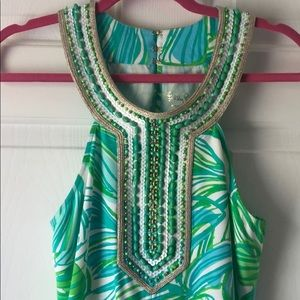 Lilly Pulitzer Beaded Top